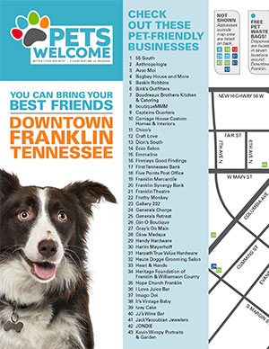 Pets Welcome Map Sample