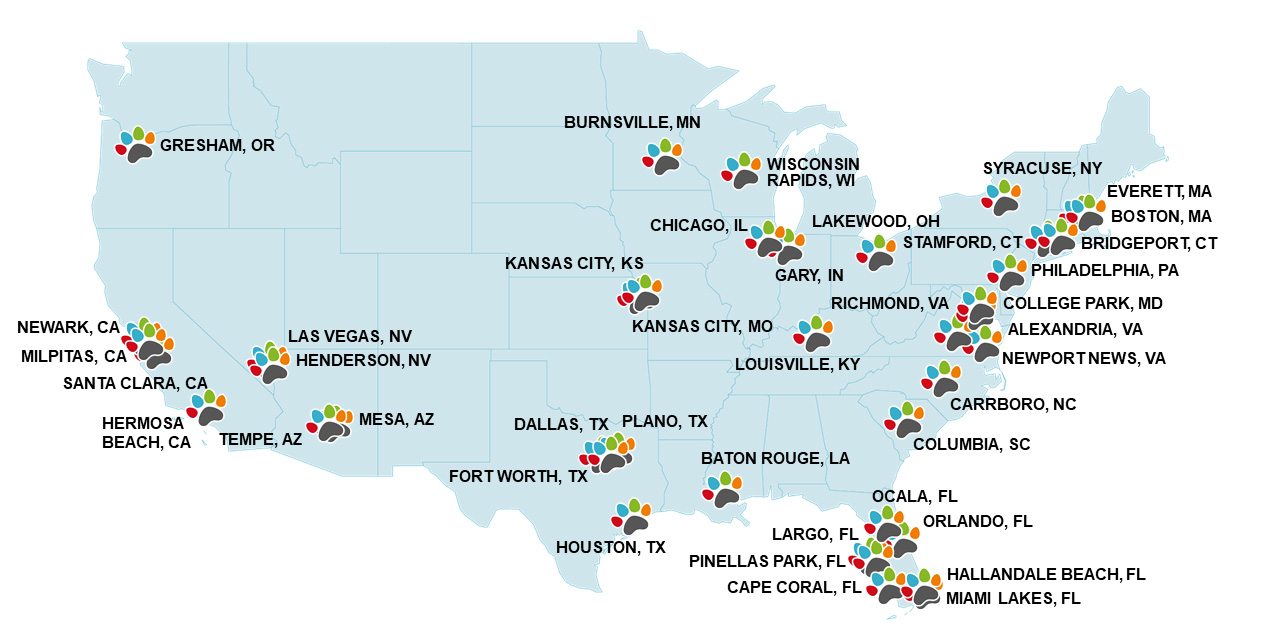 applicant cities