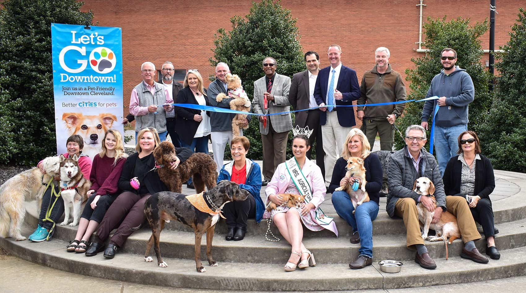 Kickoff of pet-friendly Cleveland program