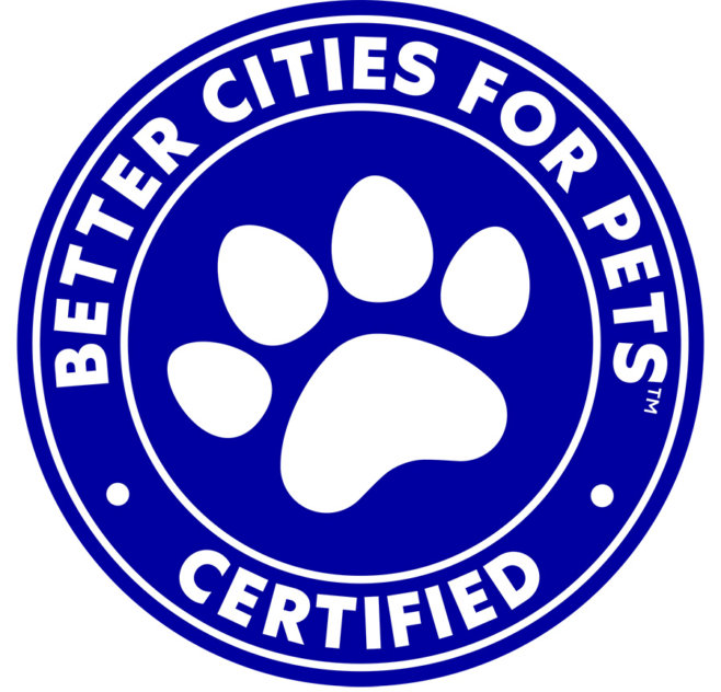 Better City For Pets™ seal