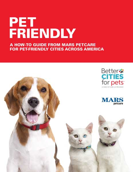 Cover of report from Mars Petcare and USCM