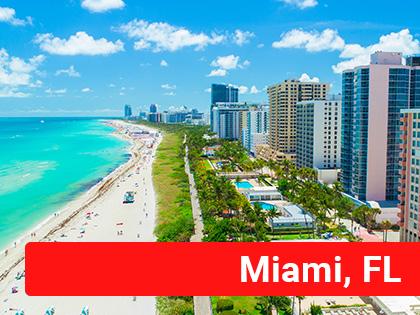 Beachfront in Miami