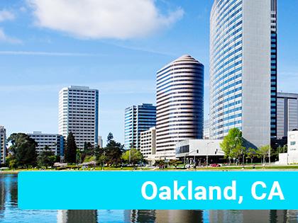 Buildings in Oakland, CA