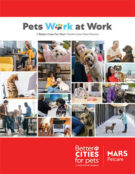 Pets Work At Work toolkit cover