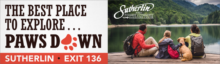 Tourism ad for Sutherlin
