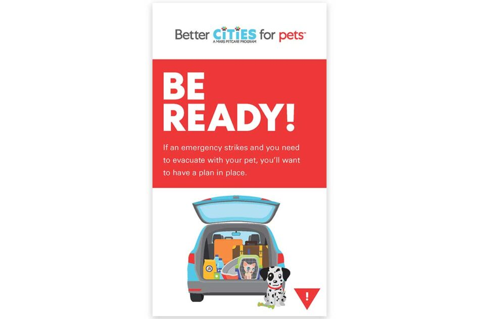 Be Ready Emergency Tips brochure cover