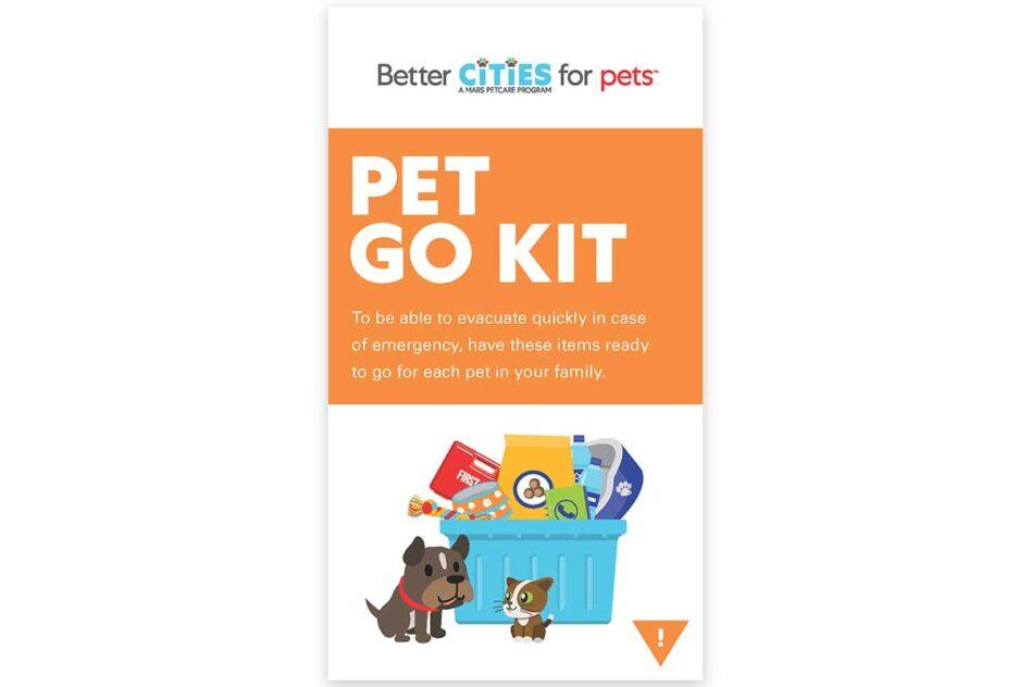 Pet Go Kit brochure cover